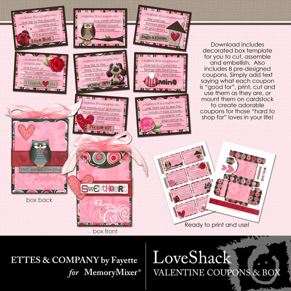 Love Shack Coupon Book Box PR