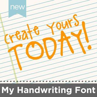 Handwriting Lg Print
